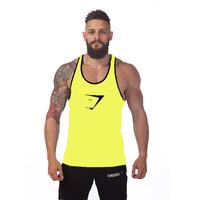 Gymshark cotton gym chaleco Bodybuilding clothing men Fitness chaleco hombre Ropa gym hombre camiseta culturismo wholesale vest