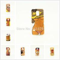 Hot Sale ! Sexy Girl Cover Case For Samsung Galaxy S5 mini S5mini G800 Pattern Rubber Soft TPU Case