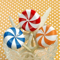 [1pc] Birthday candle child candy candle party supplies lollipop smokeless candle small gift