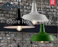 Free shipping American-style warehouse, balcony, hallway, dining room, bar, vintage industrial single-head chandelier