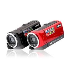 "HDV-107 Digital Video Camcorder Camera HD 720P 16MP DVR 2.7"" TFT LCD Screen 16x ZOOM Black/Red(China (Mainland))"