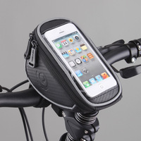 """Roswheel 1L Waterproof Mountain Road MTB Bike Bicycle Front Top Frame Handlebar Bag Cycling Pouch for 5"""" inch Cellphone Phone"""