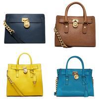 11.11 SALE AB958  H1696  AB120  AB819 saffiano  Genuine leather CHAIN lock  Women Tote bag Handbag bag multicolour free shipping