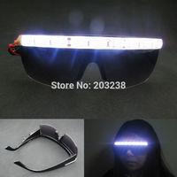 freeshipping rivet glassess led glasses / dance glasses / spectacles stage props / led party glasses