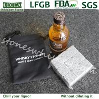 The USA free shipping ! Granite whisky stones 216 sets ( 9 pcs/set ), 1944 pcs/lot, whisky rock stone cube stone