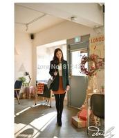 New 2014 Tops Fashion Women Coat Autumn/Winter Coats Wool Double-Breasted Outerwear For Women Long Coat Wool Coat