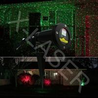 2015 Best new years electronic garden gift for parent,mini landscape lighting Red&green Christams romatinc firefly laser light