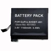 Digital Camera Li-ion Battery For GoPro HD Her04 Hero4+ Hero 4 AHDBT-401