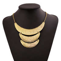 New fashion lady jewelry  vintage Golden moon necklace Sweater chain free shipping wholesale zz37