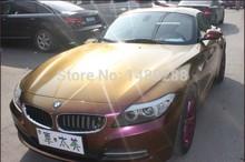 new 15M x 1 52M DIY glossy chameleon vinyl film wrap car bra paint protection