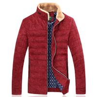 2014 New Fashion Winter Down Coat Men High Quality Fur Collar White Duck Down Winter Jacket Men Plus Size 5XL 6XL 7XL Outerwear