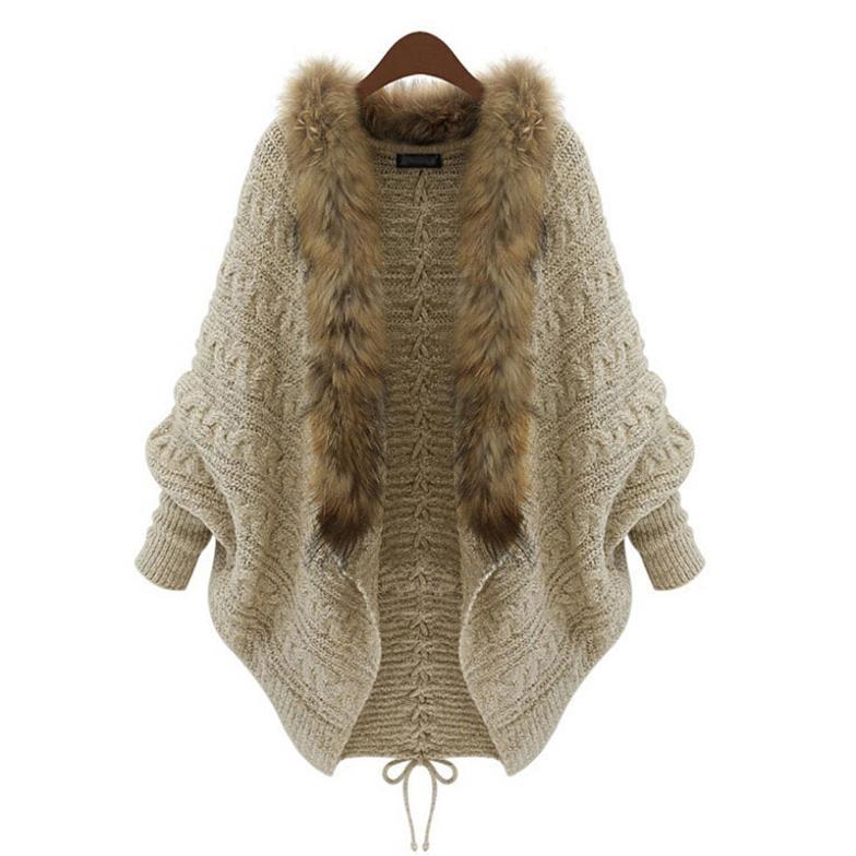 цена Женский кардиган Unbranded Batwing # NS121 Cardigan Knitted Sweater онлайн в 2017 году