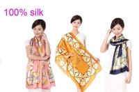 Ladies Scarves 2014 guarantee 100% silk  Scarf zipper printed  Fashion women Scarf