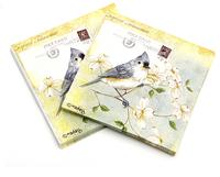 [4 packs] 100% virgin wood pulp creative wedding paper napkins colorful printed napkin wedding napkin cocktail napkins -4NC1975