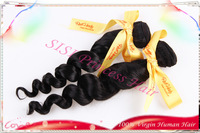 """Hot Sale 8""""-30"""" 3pcs Best Quality Peruvian Virgin Hair Extension Body Wave Machine Weft Promotion DHL Free   HF10"""