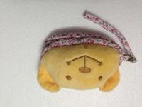 Clearance sale double zip pocket wristlet pouch purse mini bag cartoon bear camera bag last one