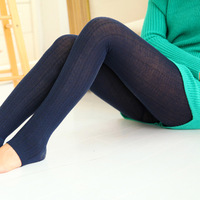 2014 new autumn and winter lady stepped twistwere thin pantyhose thick leggings pantyhose tights