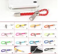 Do promotion Free shipping 5# Zipper phone string Hot sale Zipper jewelry