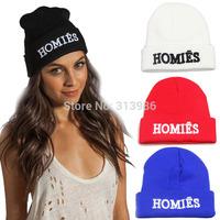 New Fashion man winter hat hip hop sport hat super man caps women wool  beanie Men/Women bonnet hats