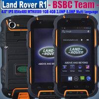 Original R1 IP68 4.0inch IPS MTK6589 Quad Core Rugged Android OS4.2 Waterproof GPS WCDMA 4500mah Oinom LMV9 Multi languages