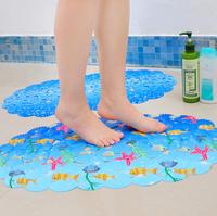 Shell fish bath mat bath mat toilet sucker pattern of children mats