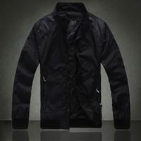 2014 New brand stylish men's Jacket / Causal formal business jacket coat / Size M-2XL & Free Shipping