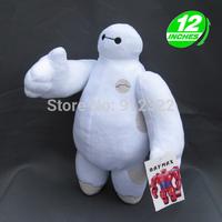 "NEW 2014 BIG HERO 6 BAYMAX ROBOT PLUSH 12"" with tag free shipping"