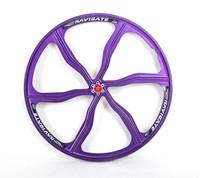 Magnesium alloy one piece wheel mountain bike cassette 26 X1.75~2.125 cassette disc wheels