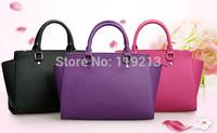 Luxury First Layer Cowhide Tote Bag Shouler Bag Genuine Leather Lady Messenger Bag Women Handbag