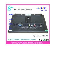 alibaba  express! 8   inch  hdmi 1600x1200 lcd monitor  lcd with HDMI /AV/VGA/BNC input for Surveillance +1080p HDMI