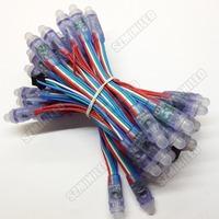 50pcs a Strand Strip RGB LED Pixel Module LPD6803 Exposed Light String RGB Lamp Waterproof IP65 DC5V 12mm