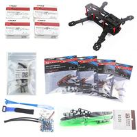 Mini 250 FPV Quadcopter Frame +1806 axis motor + SimonK12A ESC + CC3D Flight Control Edition +6030 Propeller Set
