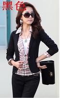 New Tops Fashion  women's fashion casual Korean Slim small suit jacket shawl cardigan Coat one button