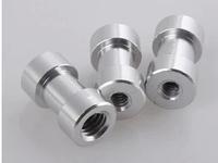 10pcs/lot 1/4  - 3/8 screw  1/4 female to 3/8 female Spigot convert Adapter Screw Threaded to Light Stand