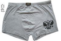 Men underwear cotton underpants men boxer shorts plus size XXXL(3XL) 6pcs/lot wholesale factory price