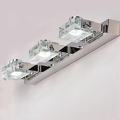 Compra cuarto de ba o espejo de luz led online al por - Lamparas para espejo de bano ...