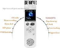 RP003B Built-in 16GB gravador de audio digital voice recorder grabadora micro mini recording portable recorders