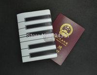 Hot Fashion Panion Key Passport Case 3D PVC Passport Card Holder waterproof travel document bag passport cover