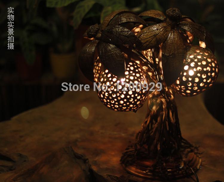 Online kopen wholesale kokos lamp uit china kokos lamp groothandel - Decoratie corridor ...