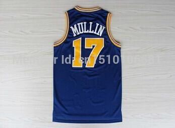 free shipping Golden State Chris Mullin 17 Jersey, Basketball Jerseys S-2XL in stock basketball jerseys(China (Mainland))