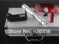 Laser Pointer 2000mw Green Color Beam 532nm with Goggles + Charger+5caps Free Shipping