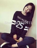 women Autumn clothing new style korean  tide loose long sleeve  pullover fleece C57 free shipping