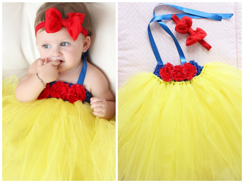 Snow White Costume For Baby Snow White Baby Tutu Dress For