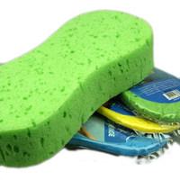 Large size vacuum-compressed sponges car wash sponge sponge vacuum packed 22*11*5cm compressed sponges