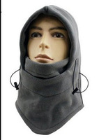 2014 NEW Thermal FLEECE BALACLAVA Warm Neck Hoods Sports Camping Hiking Hat Survival Winter SWAT Ski Mask Cover Beanie Wind Cap