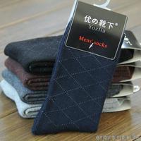 5pairs/lot 2015 men warm socks thickening winter socks male sock