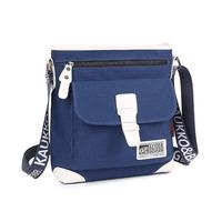 KAUKKO YP200 Adjustable Strap Premium Canvas Single Shoulder Crossbody Bag Messenger Bag Satchel Bag Zipper Laptop Bag