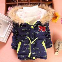 4pc/lot baby boys coats fur 2014 winter children jackets kids velvet thicken outerwear PANYA DZJ57