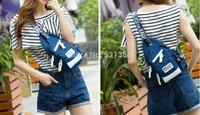 KAUKKO YP203 Women Men Unisex Multi-pockets Canvas Korean Style Casual Single Shoulder Bag Chest Sling Bag Fanny Pack
