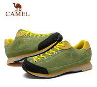 Camel new autumn and winter men outdoor hiking shoes breathable cushioning to help low-slip hiking shoes A432026245